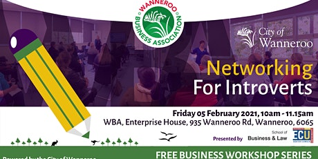 Business Workshop - Networking for Introverts tickets
