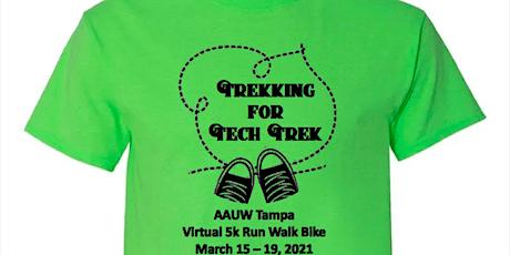 Trekking for Tech Trek Virtual 5k Walk, Run, Bike tickets