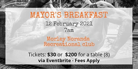 Mayor's Breakfast tickets