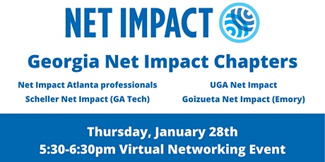 Georgia Net Impact Chapters Networking Event tickets