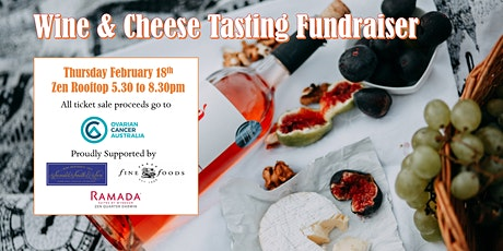 Wine & Cheese Tasting - Fundraiser for Ovarian Cancer Australia tickets