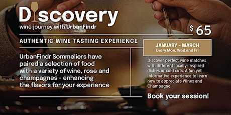 2-Hour Wine Tasting Discovery Session tickets