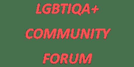 LGBTIQA+ Community Forum tickets