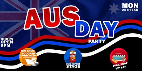 AUS DAY EVE PARTY - Rottnest Voucher Giveaway tickets