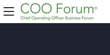 The COO Forum - Sydney Australia 2021 tickets