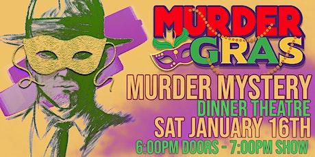 Murder Gras Murder Mystery Dinner Show tickets