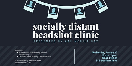 AAF Mobile Bay: New Year, New Headshot Event! tickets