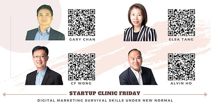 Startup Clinic Friday - Digital Marketing Survival Skills under New Normal image