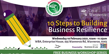 Business Workshop - 10 Steps to Building Business Resilience tickets