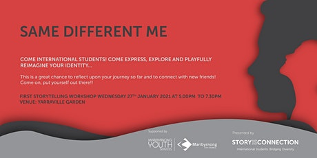 'Same Different Me' Storytelling Workshop on 27th Jan at 5:00pm tickets