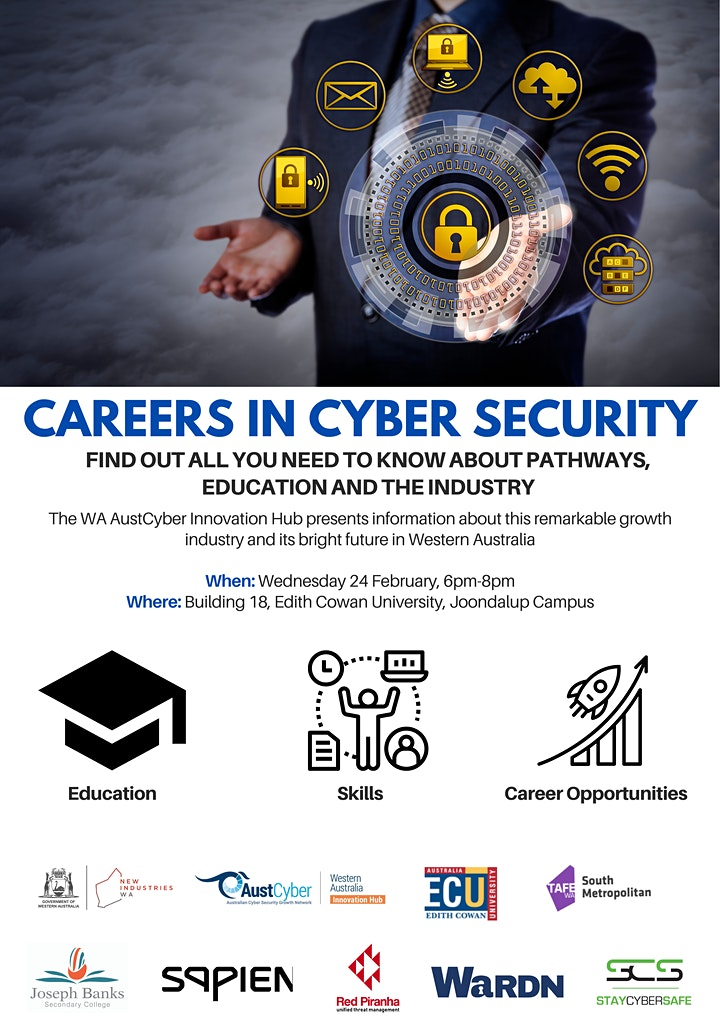 Careers in Cyber Security image