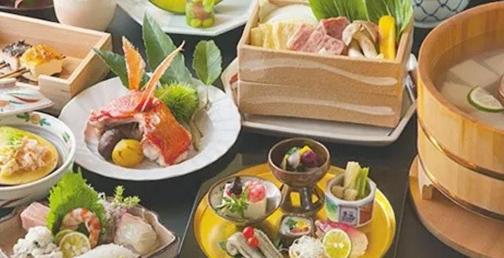 Japan - Virtual Kyoto Gourmet Eating Tour with Garden Walk image