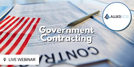 Follow the Blueprint: Government Contracting tickets