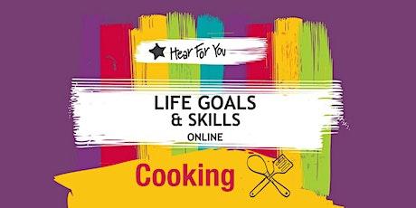 Life Goals and Skills Online-COOKING (Mediterranean) tickets
