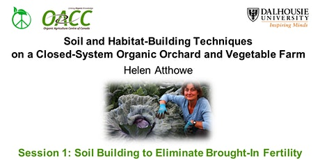 Soil Building to Eliminate Brought-In Fertility with Helen Atthowe tickets