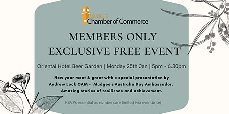 Members Only Australia Day Event tickets