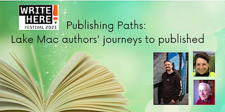 Publishing Paths - Local Authors' Journeys to Published tickets