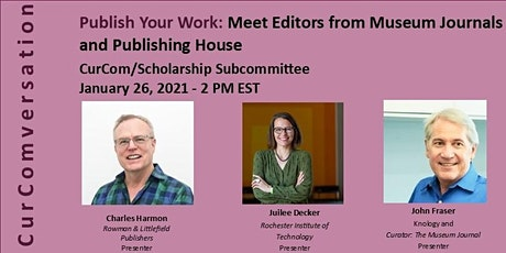CurCom - Publish Your Work:  Meet Editors from Museum Journals  and Publish tickets