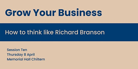 How to think like Richard Branson tickets