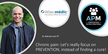 Chronic pain: Let's really focus on PREVENTION, instead of finding a cure! tickets