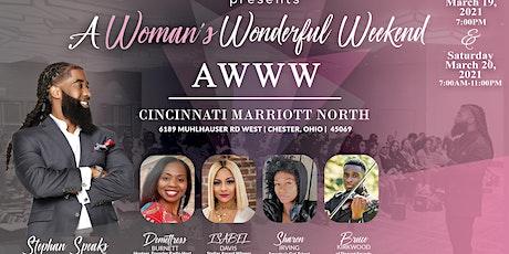 A Womans Wonderful Weekend (AWWW)- NEW DATE tickets