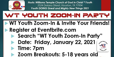 WT Youth Zoom-In Party tickets
