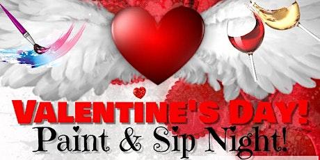 VALENTINE'S DAY PAINT & SIP NIGHT tickets