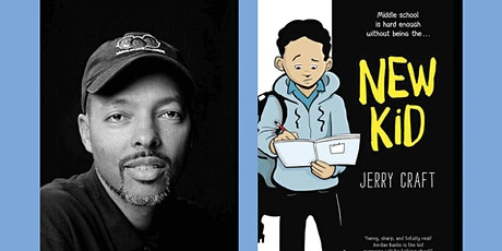 Booktopia: A Conversation & Live Drawing Demonstration with Jerry Craft tickets