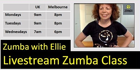 Live Virtual Zumba with Ellie tickets