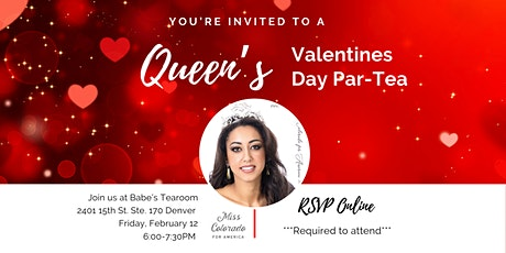 A Queen's Valentines Par-Tea tickets
