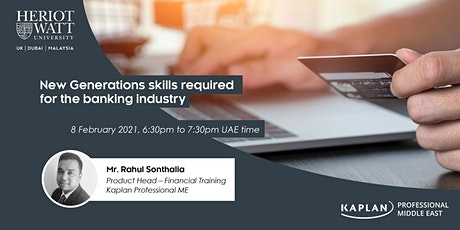 Webinar: New Generations skills required for the banking industry tickets
