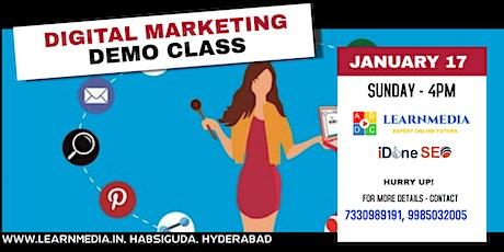 Free Digital Marketing Demo tickets