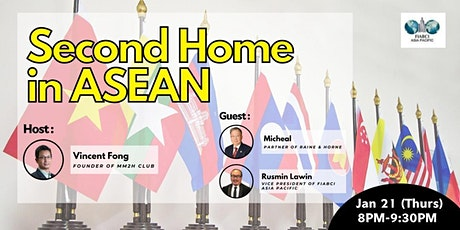 【MM2H CLUB】 Online Webinar :Second Home in ASEAN tickets