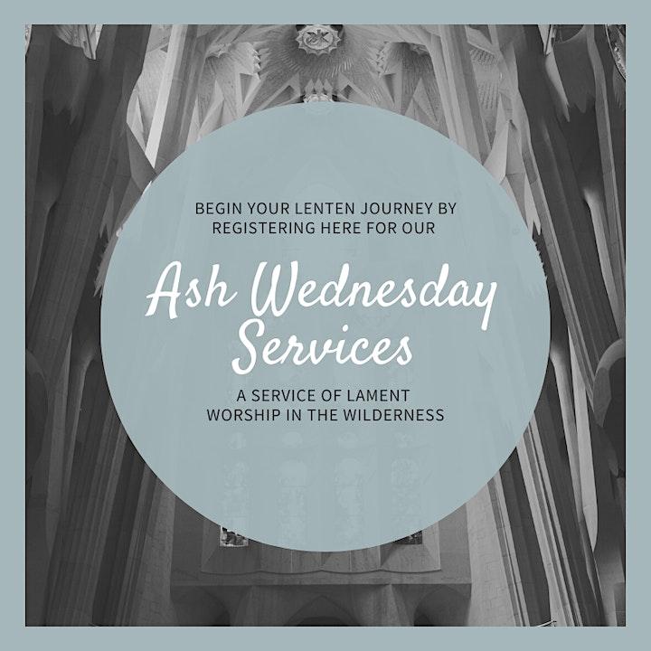 Ash Wednesday Morning Service Redhead image