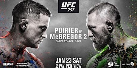 UFC 257 Poirier vs McGregor tickets