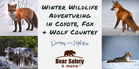 Winter Wildlife - Adventuring in Coyote, Fox & Wolf Country tickets