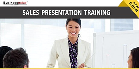 Live Seminar: Sales Presentation & Pitching Techniques tickets
