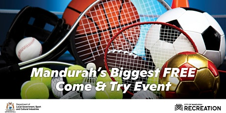 Mandurah's Biggest FREE Come and Try tickets