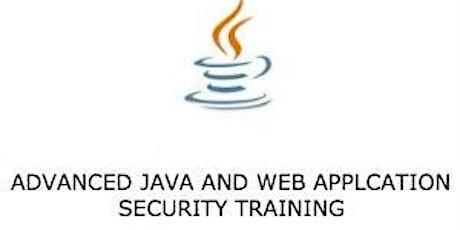 Advanced Java and Web Application Security 3Days Virtual - Hamilton City tickets