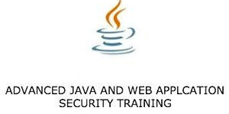 Advanced Java and Web Application Security 3Day Virtual Training-Wellington tickets