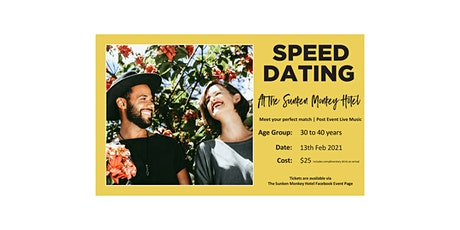 Speed Dating - Male Registration tickets