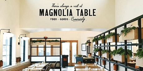 Book Review and Discussion: Magnolia Table tickets