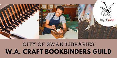 Library Lovers High Tea: W.A. Craft Bookbinders Guild (Midland) tickets