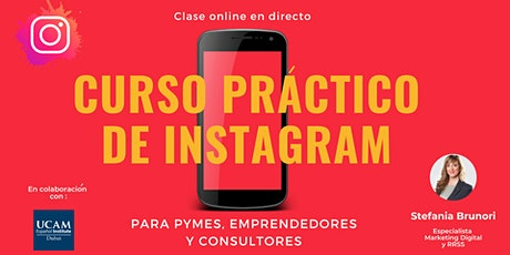 Instagram para Pymes, Emprendedores y Consultores tickets
