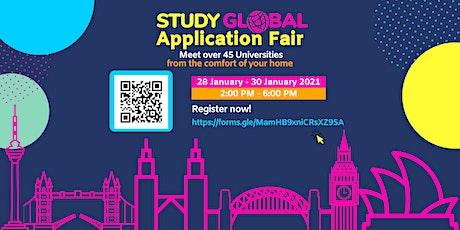 StudyGlobal Application Fair: Meet UK, Australian Malaysian universities tickets