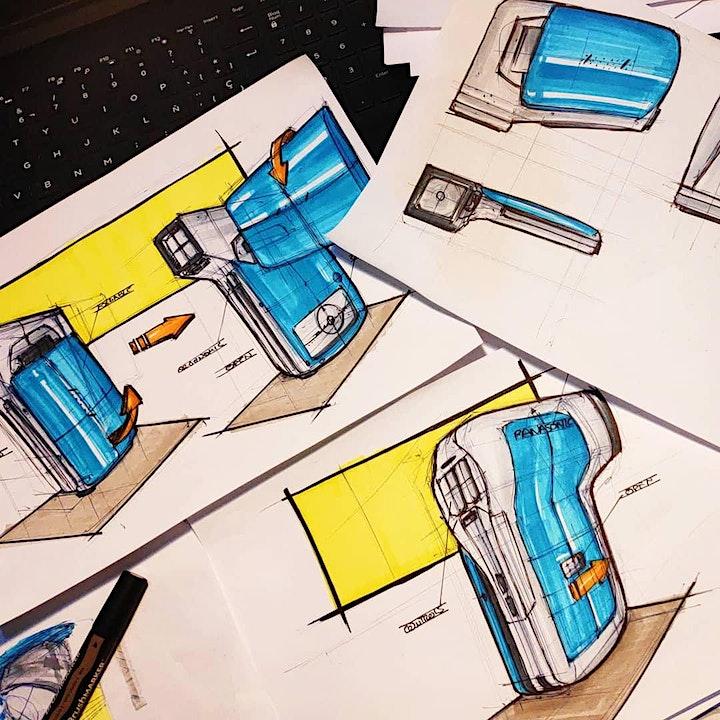 Imagen de WEBINAR -  Las 4 fases del sketching en el desarrollo de proyectos de diseñ