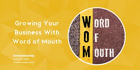 Growing your Business with Word of Mouth tickets