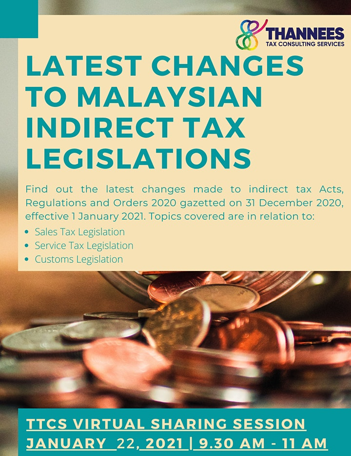 LATEST CHANGES TO MALAYSIAN INDIRECT TAX LEGISLATIONS image