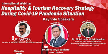 Hospitality & Tourism Recovery Strategy During Covid-19 Pandemic Situation tickets