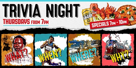 TRIVIA NIGHT! ($150 Prize to be WON) tickets
